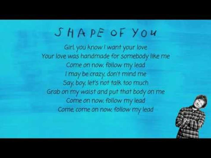 """shape of you"""