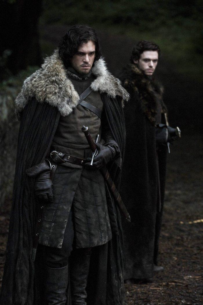 Juego de Tronos - Jon Snow y Robb Stark