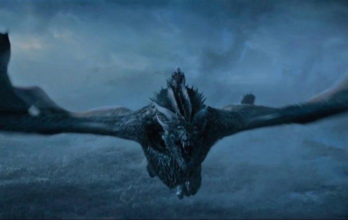 'Juego de Tronos' - Viserion - Dragón de hielo