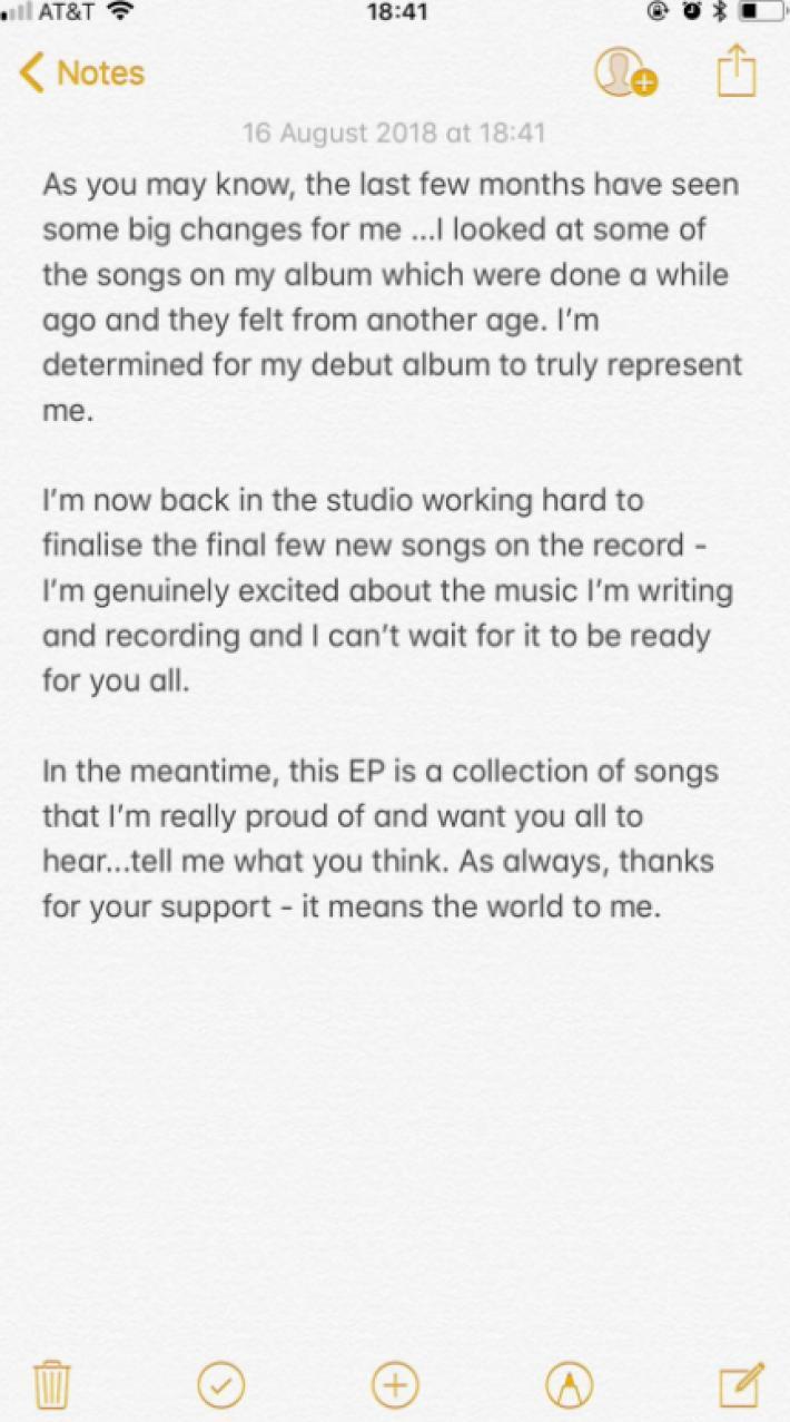 Liam Payne álbum
