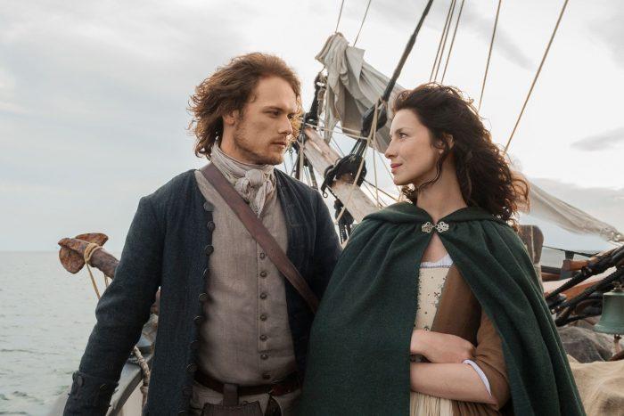 Jamie y Claire - 'Outlander'