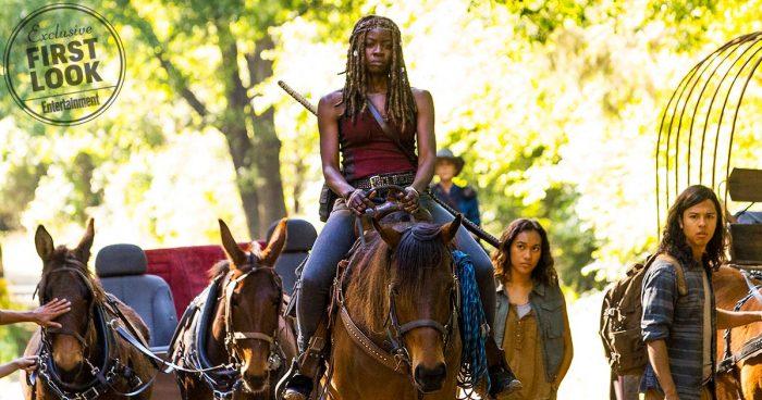 'The Walking Dead' - Michonne, temporada 9