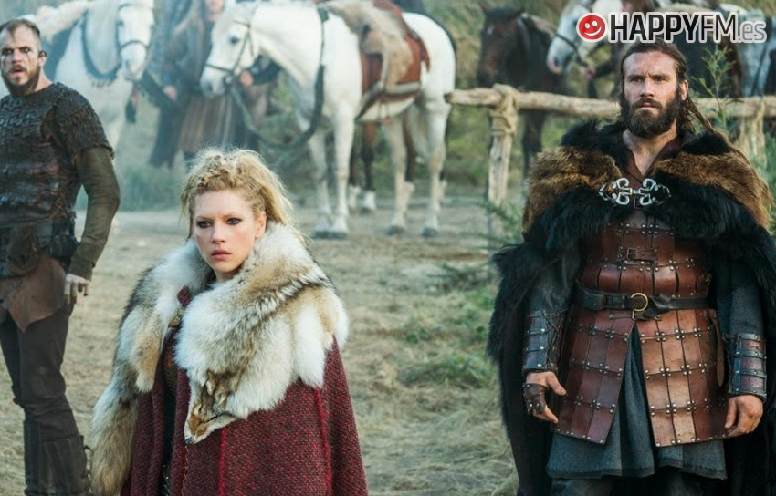 'Vikings' - Lagertha y Rollo