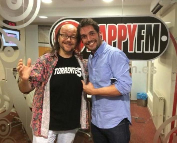 Santiago Segura estuvo en Happy FM durante la promoción de 'Torrente 5'