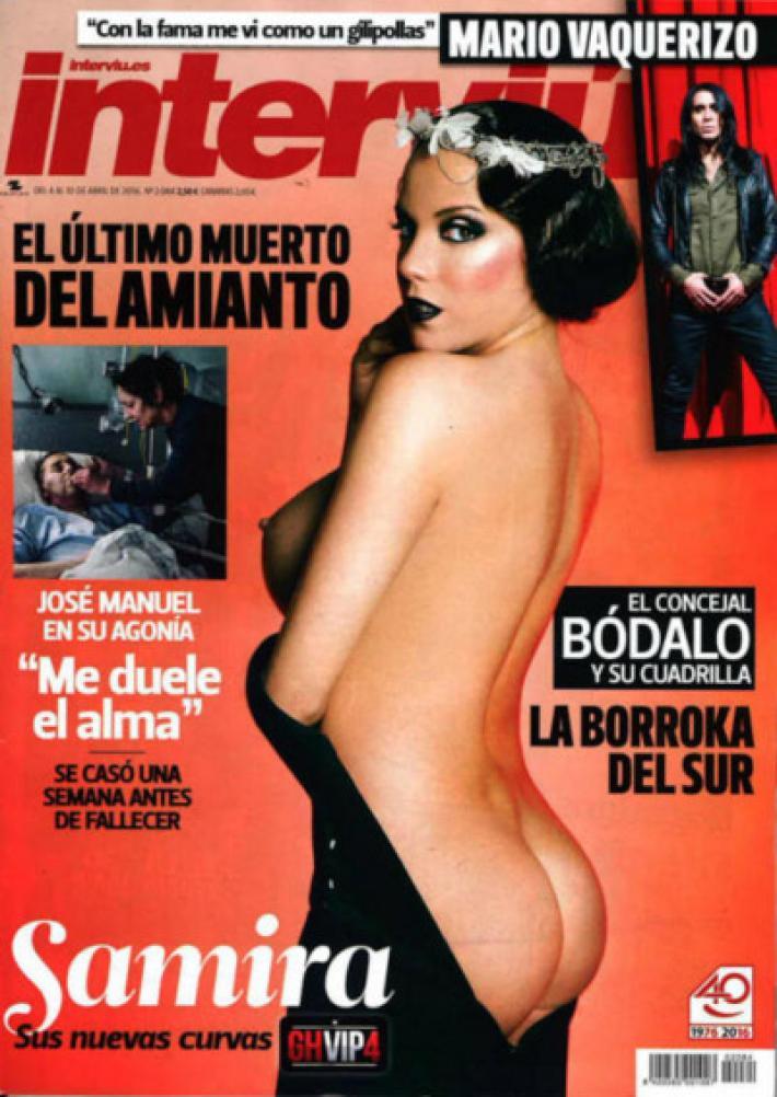Samira Ex Tronista De Mujeres Y Hombres Myhyv Se Desnuda De
