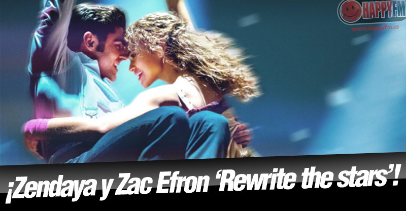 Letra (lyrics) de 'Rewrite The Stars', de Zac Efron y Zendaya, en español y audio