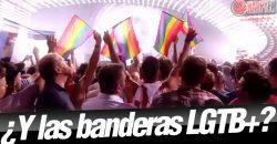La polémica de 'Eurovisión 2018' y las banderas LGTB+
