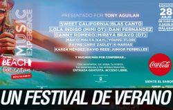 Coca-Cola Music Experience On The Beach confirma su gran cartel para uno de los festivales del verano
