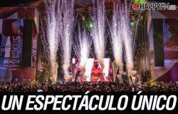 Coca-Cola Music Experience On The Beach triunfa en Málaga ante más de 75.000 personas
