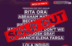 Coca-Cola Music Experience Fan Edition cuelga el cartel de 'entradas agotadas'