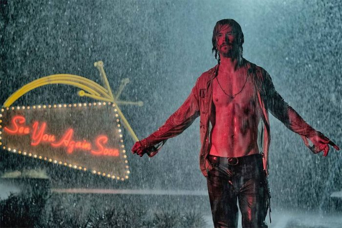 Chris Hemsworth en 'Bad Times at the El Royale'