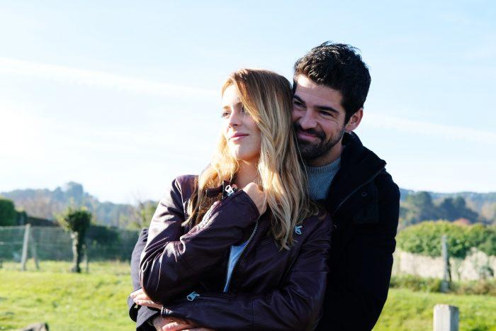 Miguel Ángel Muñoz y Alejandra Onieva