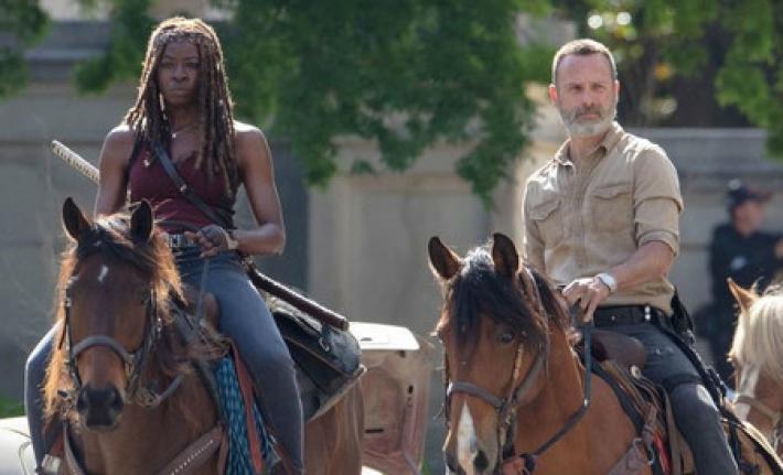 Rick Grimes y Michonne