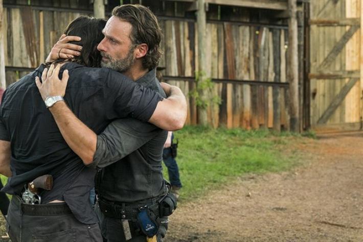 Rick y Daryl