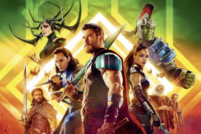 'Thor: Ragnarok' poster
