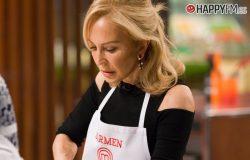 Carmen Lomana, cansada de 'Masterchef Celebrity' y con el jurado en contra
