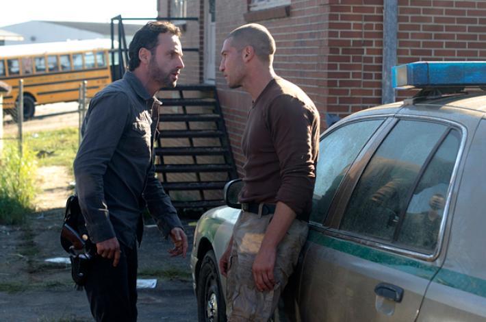 Rick Grimes y Shane en 'The Walking Dead'