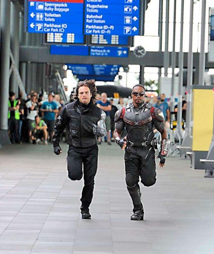 Bucky y Falcon