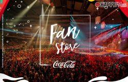 Estas son las experiencias y artículos que podréis encontrar en Coca-Cola Fan Store