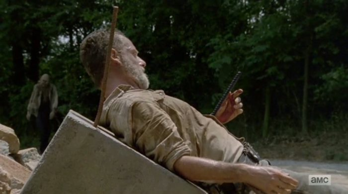Andrew Lincoln es Rick Grimes