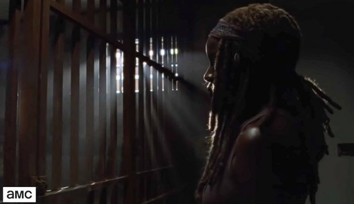 Michonne y Negan