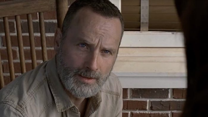 Rick Grimes en la Temporada 9 de 'The Walking Dead'