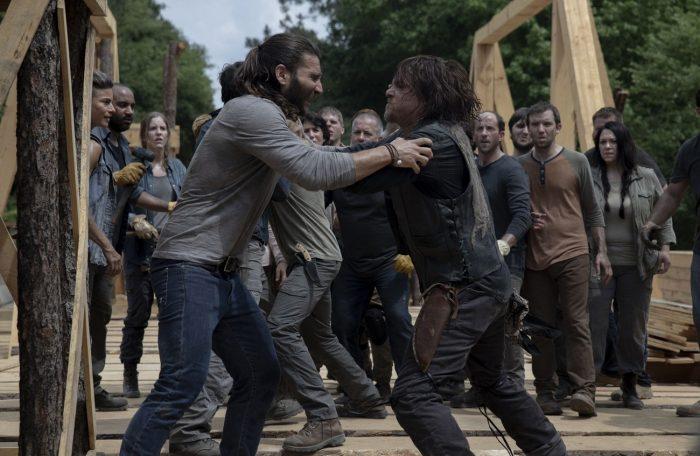 Justin y Daryl - Capítulo 9x02 de 'The Walking Dead'