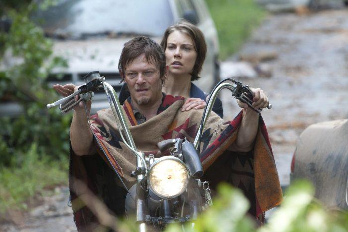 Daryl y Maggie