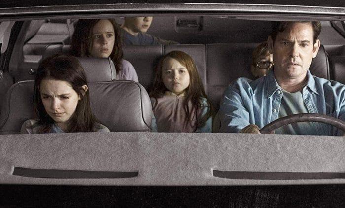 'La maldición de Hill House' - Escena coche