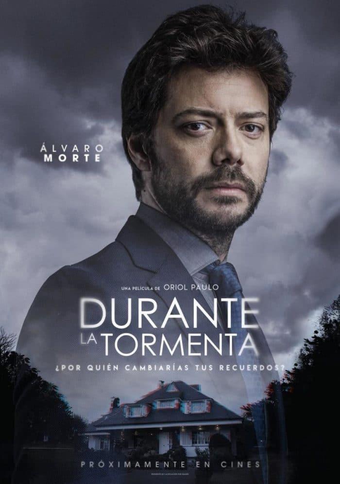 Álvaro Morte en 'Durante la tormenta'