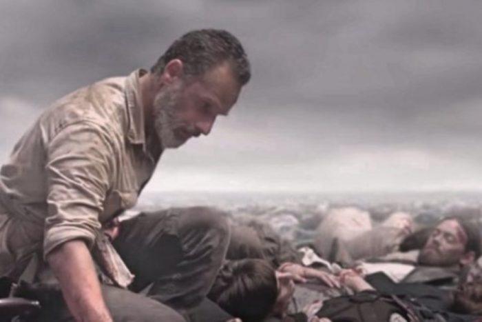 Andrew Lincoln es Rick Grimes en 'The Walking Dead'