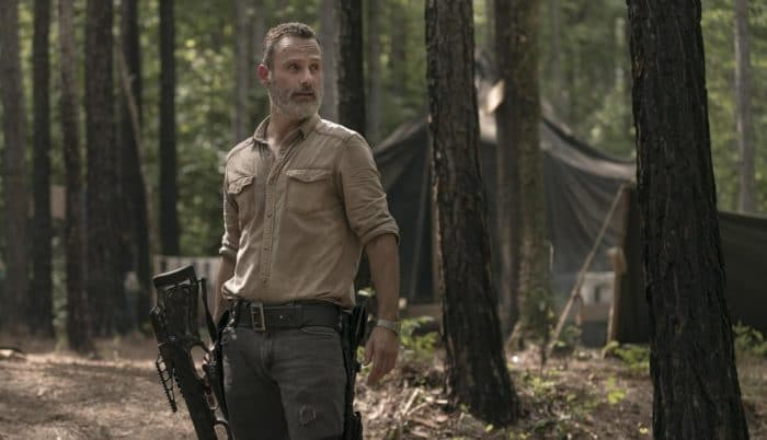 Andrew Lincoln es Rick Grimes en 'The Walking Dead'