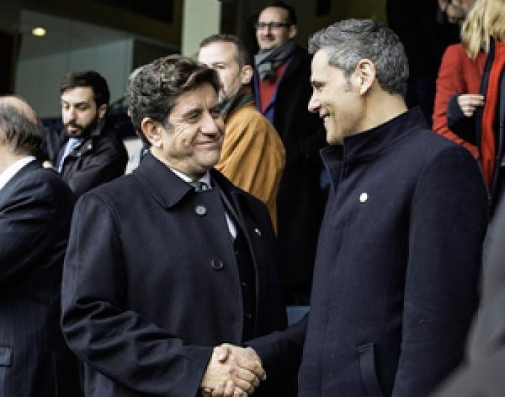 Roberto Enríquez y Pedro Casablanc