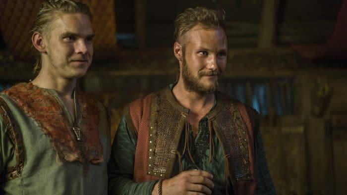 'Vikings' - Ubbe y Hvitserk