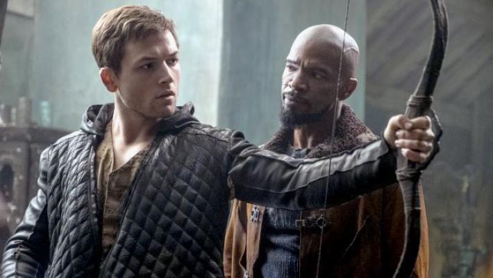 'Robin Hood' - Taron Egerton y Jamie Foxx