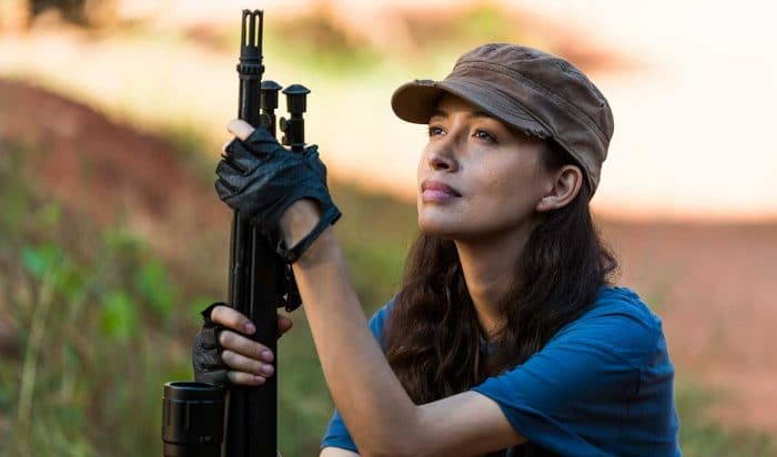 Rosita en 'The Walking Dead'