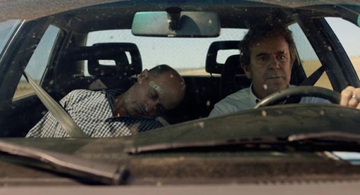 Alfonso y Teo en 'Matadero'