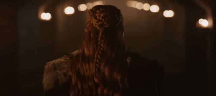 El peinado de Sansa Stark