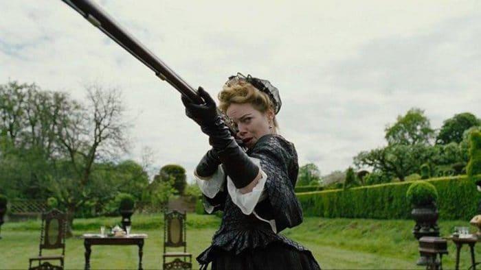 Emma Stone en 'La favorita'