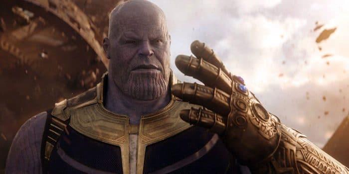Thanos en 'Infinity War'