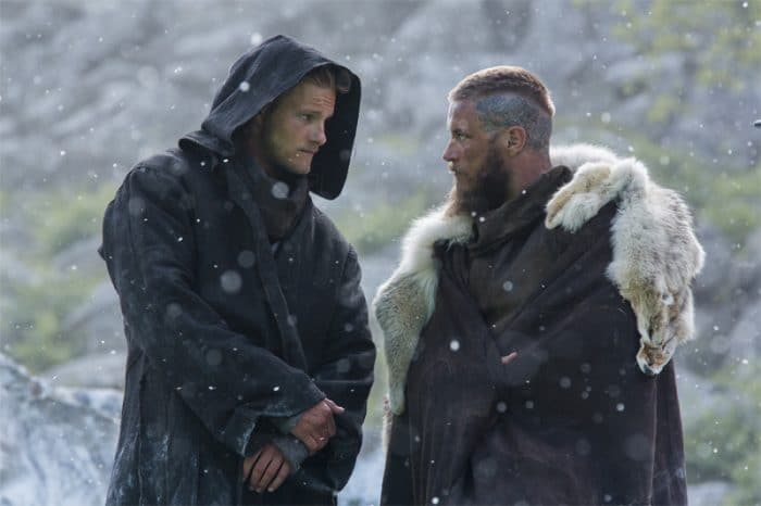 'Vikings' - Björn Ironside y Ragnar Lothbrok