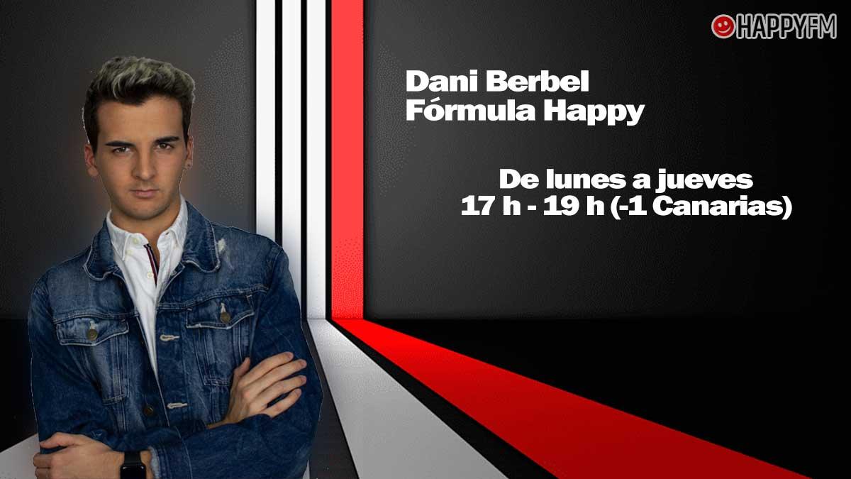 Dani Berbel, cada tarde en Happy FM