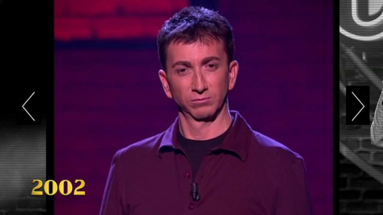 Pablo Motos, además de guionista, también participó como monologuista en 'El club de la comedia'