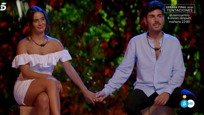 'La isla de las tentaciones': Hugo y Lara se marcharon juntos del programa con promesas de boda
