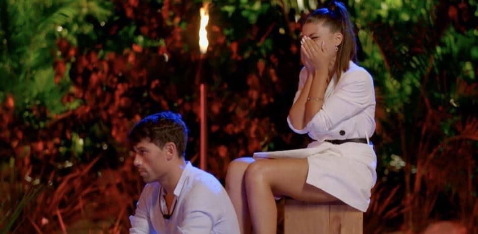 Lola y Diego no pudieron superar la prueba que les puso la isla