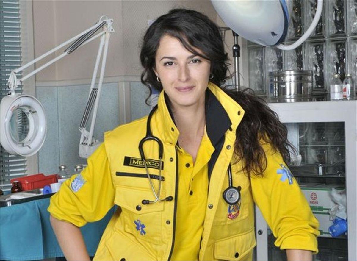 Mónica Estarreado en 'Hospital Central'