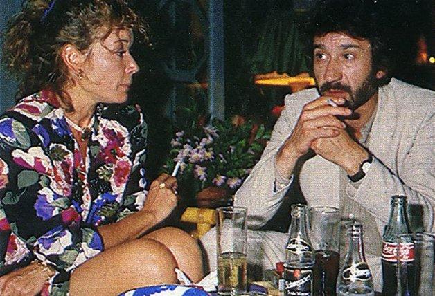 Sacristán estuvo relacionado con Mila Ximénez en 1986