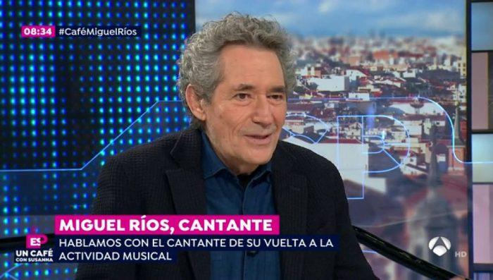 Miguel Ríos protege mucho su vida privada de los medios de comunicación, dando pocos detalles de ella