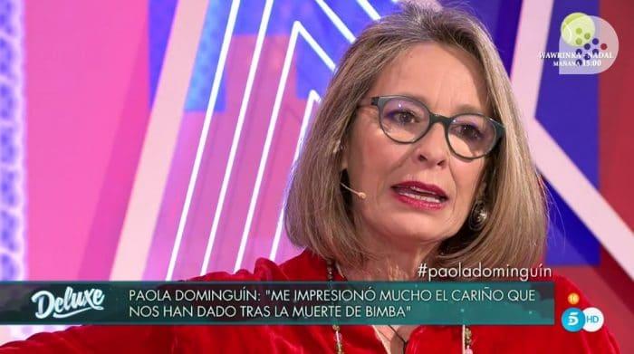 Paola Dominguín es hija del torero Luis Miguel Dominguín y Lucía Bosé