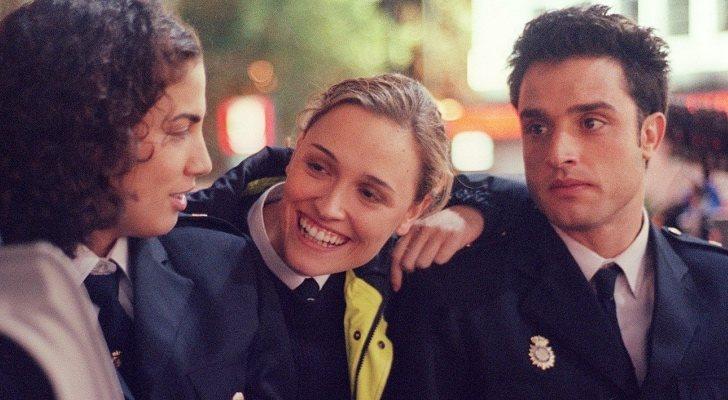Toni Acosta saltó a la fama gracias a la serie 'Policías'